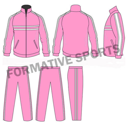 Customised Sublimation Cut And Sew Team Tracksuit Manufacturers in North Korea