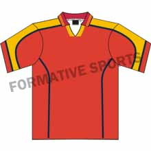 Customised Custom Cut And Sew Hockey Jersey Manufacturers