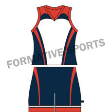 Customised Cut And Sew Hockey Singlets Manufacturers in China