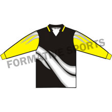 Customised Custom Goalie Shirt Manufacturers in Congo