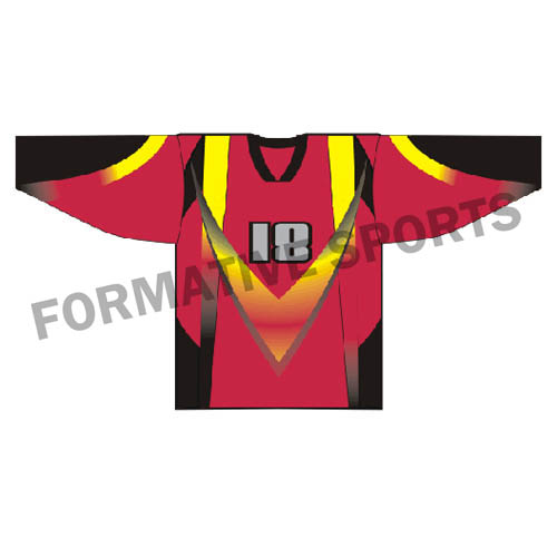 Customised Ice Hockey Jerseys Manufacturers in Tonga