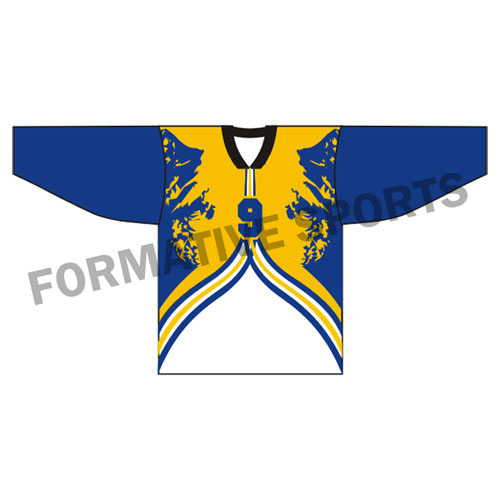 Customised Ice Hockey Jerseys Manufacturers in Rouen