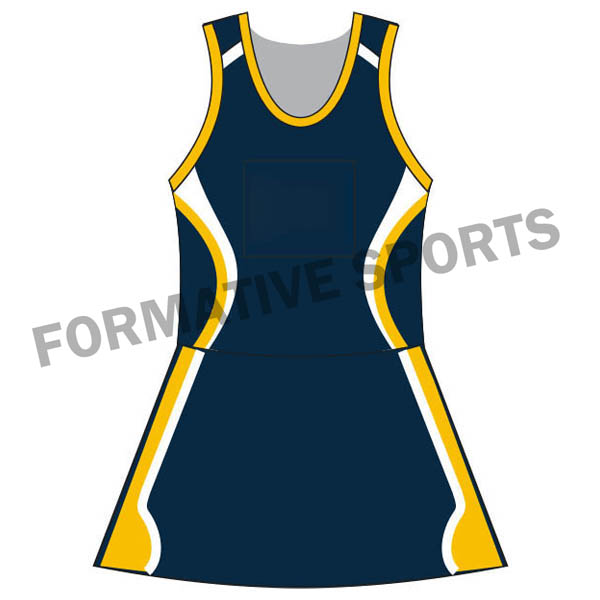 Customised Sublimated Netball Suit Manufacturers in Switzerland