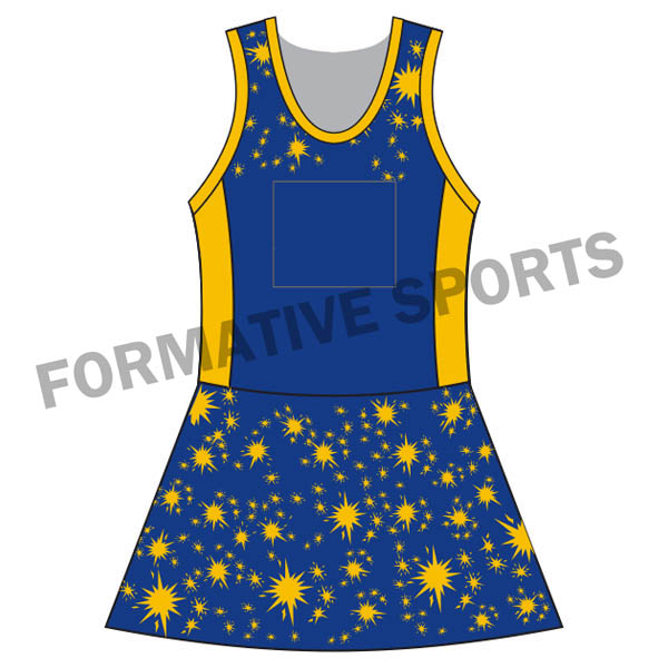 Customised Netball Team Suit Manufacturers in Switzerland