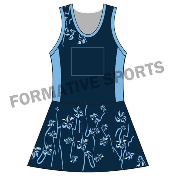 custom netball team suits
