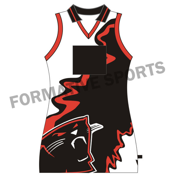 Customised Custom Sublimated Netball Tops Manufacturers in Rouen
