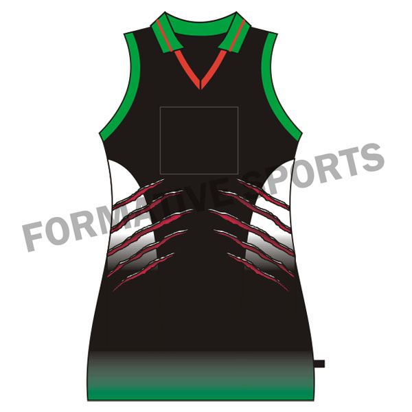 Customised Netball Team Tops Manufacturers in Congo