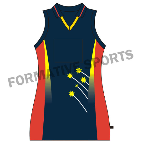 Customised Netball Tops Manufacturers in Canada