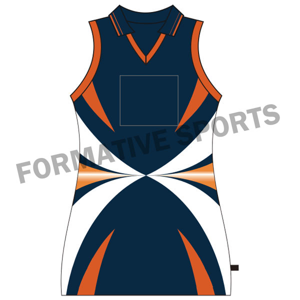 Customised Sublimated Netball Tops Manufacturers in Congo