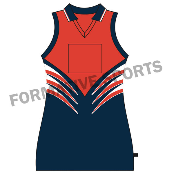Customised Custom Netball Tops Manufacturers in Canada