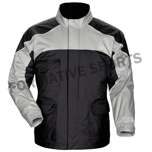 Customised Mens Hooded Rain Jackets Manufacturers in Tourcoing