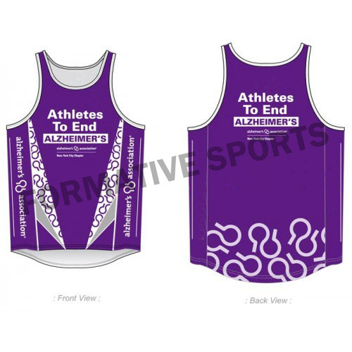 Customised Running Tops Manufacturers in Gladstone