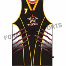 Customised Custom Basketball Singlets Manufacturers in Melton