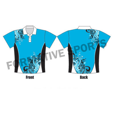 Customised Team One Day Cricket Shirts Manufacturers in Italy