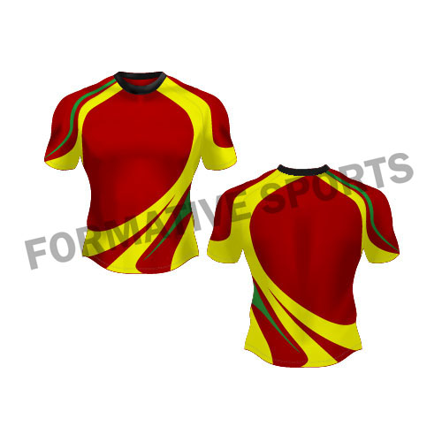 Customised Sublimated Rugby Jersey Manufacturers in Tonga