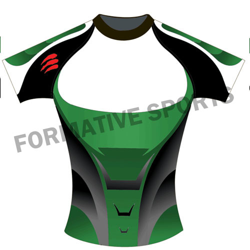Customised Sublimation Rugby Jersey Manufacturers in Montenegro