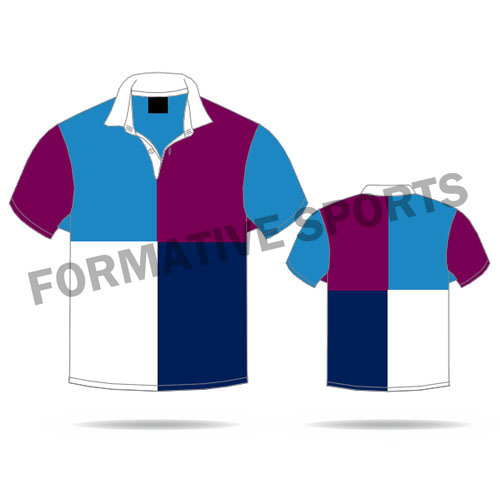 Customised Sublimation Rugby Jerseys Manufacturers in Albania