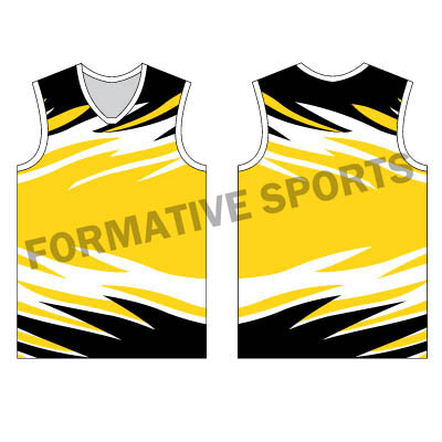 Customised Sublimation Singlets Manufacturers in Norway