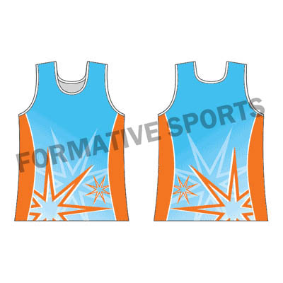 Customised Sublimation Singlets Manufacturers in Novosibirsk