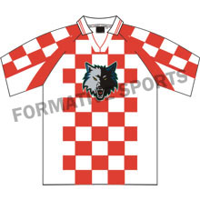 Customised Custom Sublimation Soccer Jersey Manufacturers in Novosibirsk