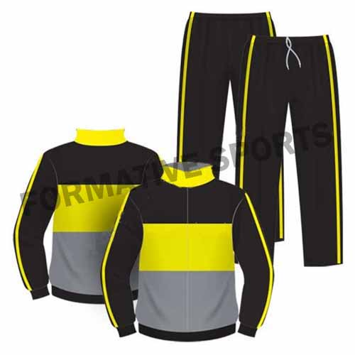 custom sublimation tracksuits
