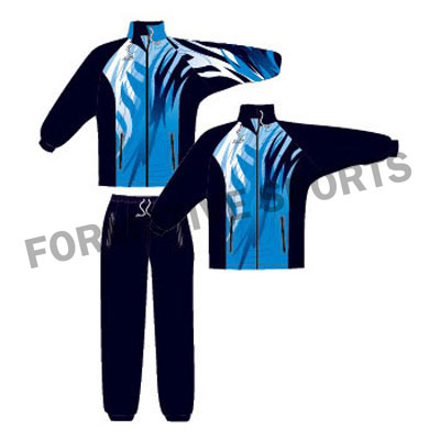 custom team tracksuit USA