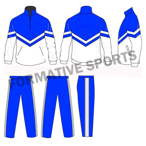 Customised Sublimation Team Tracksuits Manufacturers