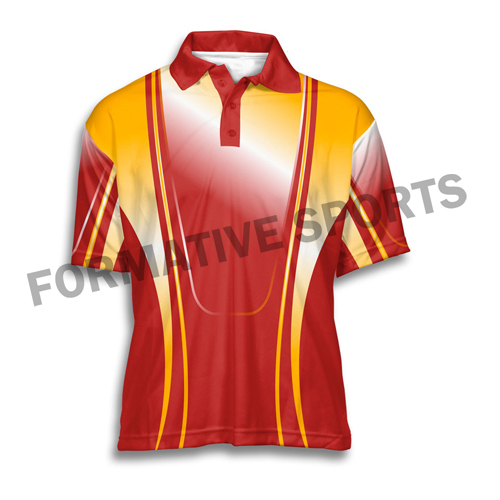 Customised Sublimation Tennis Jersey Manufacturers in Tonga
