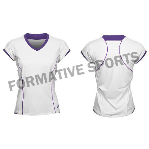 Customised Cut And Sew Tennis Jersey Manufacturers in China