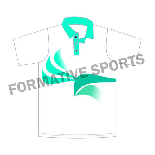 Customised Tennis Team Shirts Manufacturers in Tonga