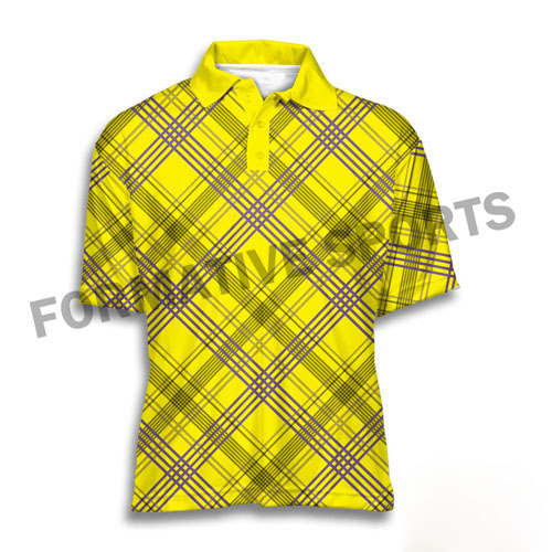 Customised Tennis Shirts Manufacturers in Tonga