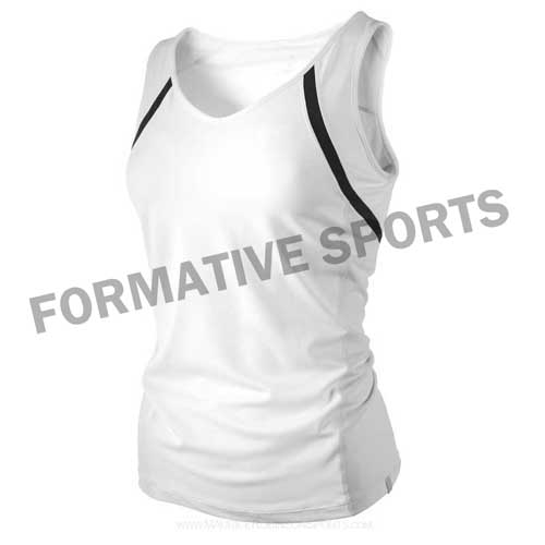 Customised Custom Tennis Tops Manufacturers USA, UK Australia