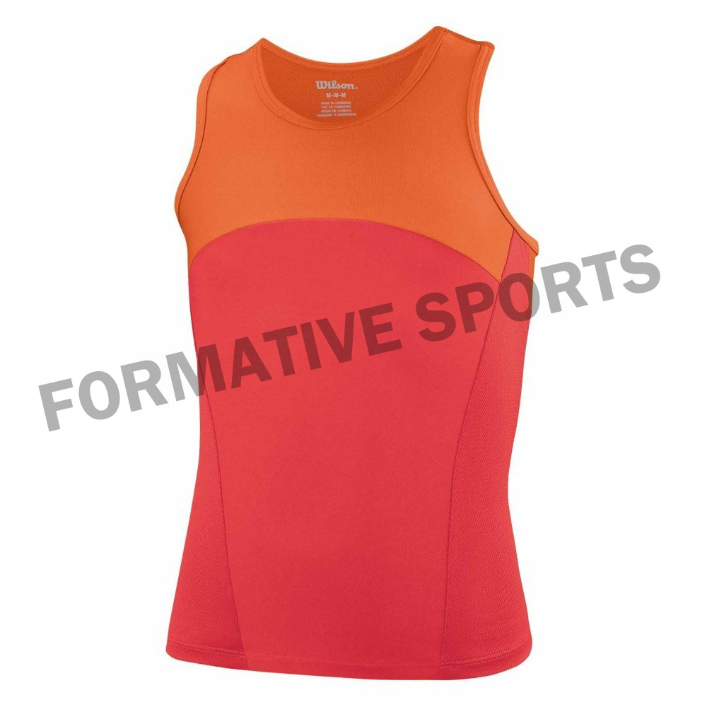Customised Tennis Tops Manufacturers USA, UK Australia