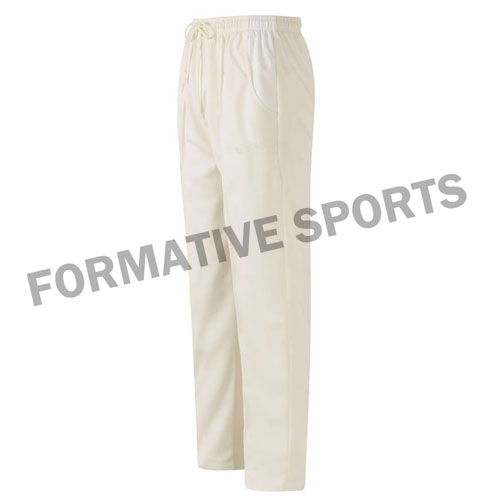 Customised Test Cricket Pants Manufacturers in Belgium