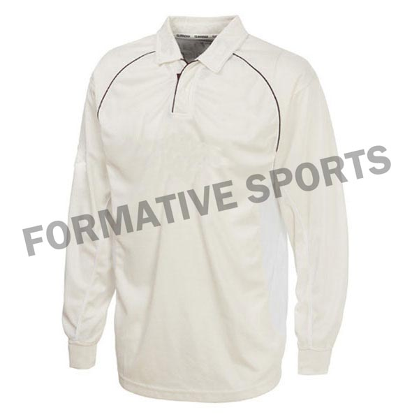 Customised Test Cricket Shirts Manufacturers in Clichy