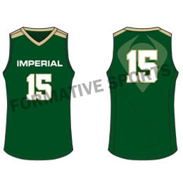 Customised Cut And Sew Volleyball Jersey Manufacturers in Nizhny Novgorod
