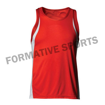 Customised Sublimated Volleyball Singlets Manufacturers in Peru