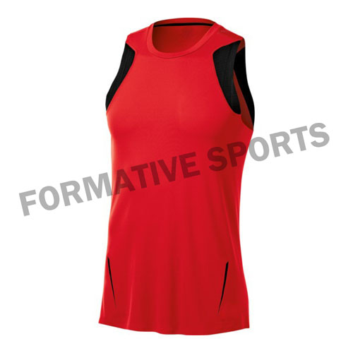 Customised Women Volleyball Singlets Manufacturers in Peru