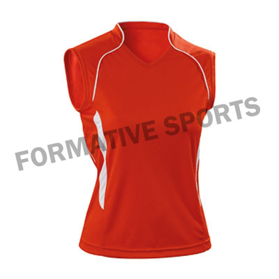 Customised Custom Volleyball Singlets Manufacturers in Montenegro