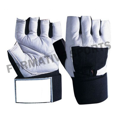 Customised Leather Weight Lifting Gloves Manufacturers
