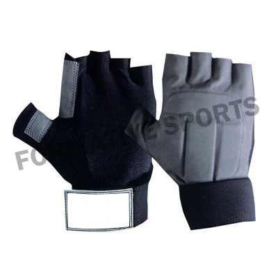 Customised Padded Weight Lifting Gloves Manufacturers
