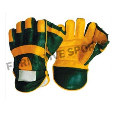 Customised Cheap Wicket Keeping Gloves Manufacturers in Saudi Arabia