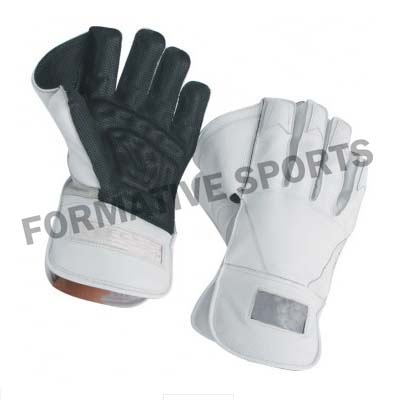 Customised Junior Wicket Keeping Gloves Manufacturers in Grasse