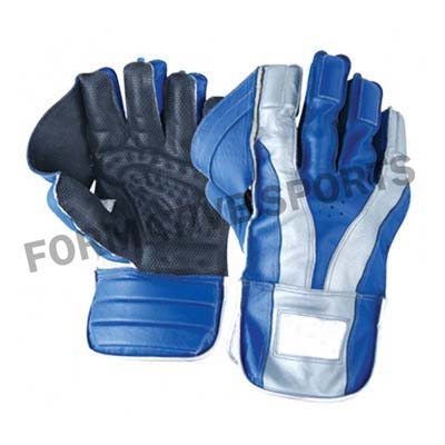 Customised Cricket Wicket Keeping Gloves Manufacturers in Sweden